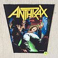 Anthrax - Spreading The Disease - 1987 Anthrax - Back Patch