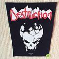 Destruction - Patch - Destruction - Skull - 2000 Nuclear Blast - Razamataz - Back Patch