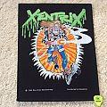 Xentrix - Ghostbusters - 1990 Blue Grape - Razamataz - Back Patch