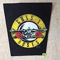 Guns 'N' Roses - Round Logo - 1988 Guns 'N' Roses Back Patch