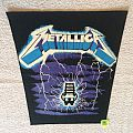 Metallica - Ride The Lightning - Vintage Backpatch - Long Version