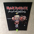Iron Maiden - Can I Play With Madness - 1988 Iron Maiden Holdings Ltd. - Backpatch