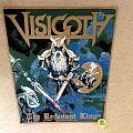 Visigoth - The Revenant King - Gold Border - 2018 Backpatch