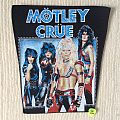 Mötley Crüe - Shout At The Devil - Vintage Back Patch