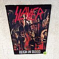 Slayer - Reign In Blood - Boot Backpatch