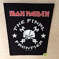 Iron Maiden - Patch - Iron Maiden - The Final Frontier - 2011 Iron Maiden Holdings Ltd. - Backpatch