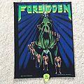 Forbidden - Twisted Into Form - 1990 Forbidden - Rzamataz - Back Patch
