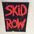 Skid Row - Logo - 1990 Skid Row - Backpatch