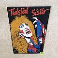 Twisted Sister - Dee Snider 2 - Black Border - Vintage Backpatch