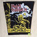 Iron Maiden - Sanctuary - Long Version - Vintage Back Patch