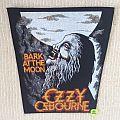 Ozzy Osbourne - Bark At The Moon - Vintage Back Patch 2