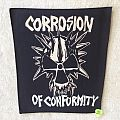 Corrosion Of Conformity - Logo - C.O.C. - Vintage Backpatch