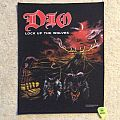 Dio - Patch - Dio - Lock Up The Wolves - Back Patch - 1990 Niji Productions