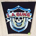 L.A.Guns - First Album - Logo - Long Version - Vintage Back Patch