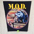 M.O.D. - Patch - M.O.D. - Gross Misconduct - 1989 Great Southern Company - Back Patch