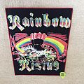 Rainbow - Rising - Red Border - Boot Backpatch