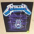 Metallica - Ride The Lightning - Vintage Back Patch