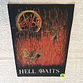 Slayer - Hell Awaits - Vintage Backpatch - Second Version