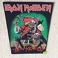 Iron Maiden - Ten Years - 1990 Iron Maiden Holdings Ltd. - Back Patch