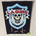 L.A. Guns - Patch - L.A. Guns - Logo - Vintage Back Patch