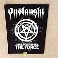 Onslaught - 30th Anniverary The Force - Backpatch