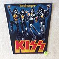 Kiss - Destroyer - 1989 The Kiss Company - Backpatch