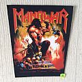 Manowar - Agony And Ecstacy - 1994 Manowar - Razamataz - Back Patch
