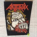 Anthrax - Fistful Of Metal - Huge Version - Vintage Backpatch