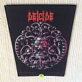 Deicide - Same - 1990 Blue Grape Merchandising - Razamataz - Back Patch