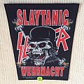 Slayer - Slaytanic Wehrmacht - With Copyright - 1990 Brockum - Back Patch