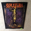 Sepultura - Chaos A.D. - 1994 Blue Grape Merchandising - Razamataz - Backpatch
