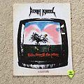 Death Angel - Frolic Through The Park - 1989 Razamataz - Back Patch