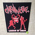 Carnivore - Legion Of Doom - Boot Backpatch