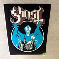 Ghost - Opus Eponymus - 2012 Ghost - Backpatch