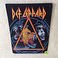 Def Leppard - Hysteria Animal - Vintage Backpatch