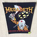 Megadeth - Killing Is My Business - Vintage Back Patch