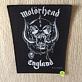Motörhead - England - 1991 Motörhead - Back Patch
