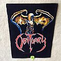 Obituary - The End Complete - Dragon - 1993 Blue Grape Merchandising - Razamataz - Backpatch