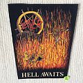 Slayer - Hell Awaits - White Thread - Vintage Back Patch