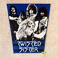 Twisted Sister - Band - Blue Version - Vintage Backpatch