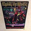 Iron Maiden - Stranger In A Strange Land - 1986 Iron Maiden Holdings Ltd. - Backpatch