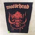 Motörhead - Snaggletooth - Red Version - Vintage Backpatch
