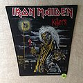 Iron Maiden - Killers - 1981 Iron Maiden Holdings Ltd. - Backpatch