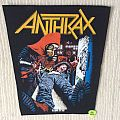 Anthrax - Spreading The Disease - Vintage Back Patch - Different Version
