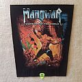 Manowar - Warriors Of The World - 2002 Nuclear Blast - Backpatch
