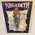 Megadeth - Youthanasia Tour - 1994 Megadeth - Giant Merchandise - Razamataz - Back Patch