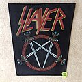 Slayer - Pentagram Sword-Logo - Vintage Backpatch