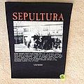 Sepultura - Refuse/Resist - 1993 Blue Grape Merchandising - Backpatch