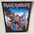 Iron Maiden - The Trooper - Vintage Back Patch