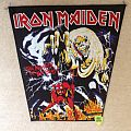 Iron Maiden - The Number Of The Beast - Vintage Backpatch